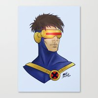 cyclops Canvas Prints featuring Cyclops by Matthew Bartlett