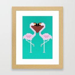 perfect match Framed Art Print