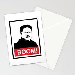 Kim Jong Un BOOM #society6 #decor #buyart #artprint Stationery Cards
