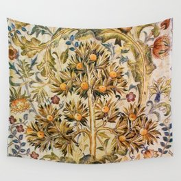 """William Morris """"Quince Tree"""" Wall Tapestry"""