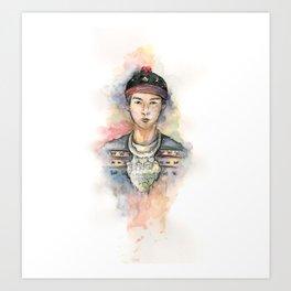 Color Me Hmong 2 Art Print