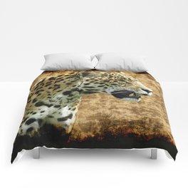 Wild Jaguar Comforters