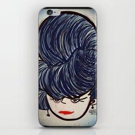 Victorian Lady / Dama Victoriana iPhone Skin