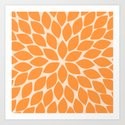 Sherbet Chrysanthemum by colorpopdesign
