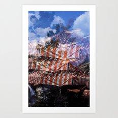 Viktualienmarkt Art Print