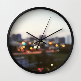 Gulf Coast Evening Wall Clock