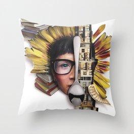 Timber | Collage Throw Pillow
