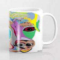 rottweiler Mugs featuring Rottweiler by EloiseArt