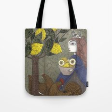 The Lemon Picker Tote Bag