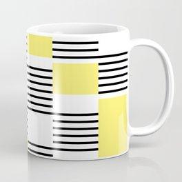 Stripes and rectangles Coffee Mug
