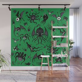 Cosmic Horror Critters Wall Mural