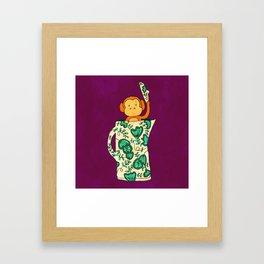 Dinnerware sets - Monkey in a jug Framed Art Print