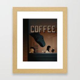 Dino-Mite Framed Art Print