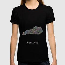 Kentucky map T-shirt