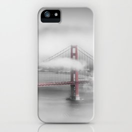 Foggy Golden Gate Bridge | colorkey iPhone Case