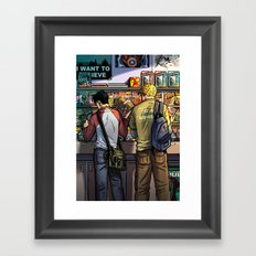 William and Theodore 05 Framed Art Print