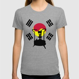 Flag of South Korea | Pressure stove T-shirt