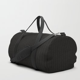 Antiallergenic Hand Knitted Black Wool Pattern - Mix & Match with Simplicty of life Duffle Bag