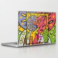 brasil Laptop & iPad Skins featuring Brasil by Ana Sanz Durán