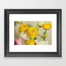 You are my flower Framed Art Print