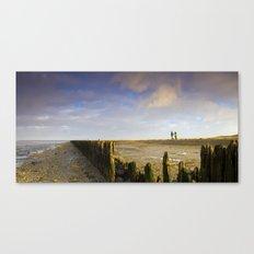 Walk to the sea Canvas Print