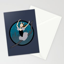 Dancing Through The Night Stationery Cards