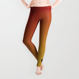 Digital Autumn Leggings - inspired by 'The Fall' lyric video Leggings