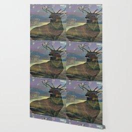 """White Tail Deer"" Wallpaper"