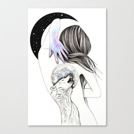 Moon Coven Canvas Print