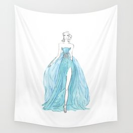 Floating Dress Wall Tapestry