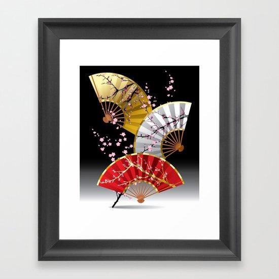 Japanese Cherry Fans by fantasyartdesigns