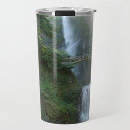 Multnomah Falls Travel Mug