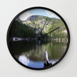 Serene Morning At Bear Lake Wall Clock