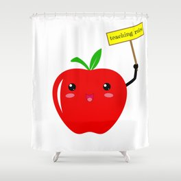 Teaching Rules Teacher Lesson Teaching Back To School First Day Of School Shower Curtain