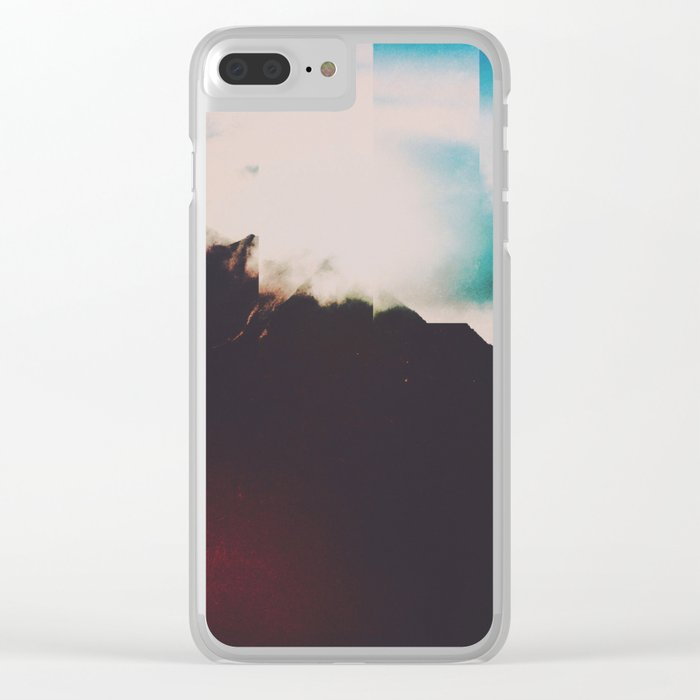 Fractions A83 Clear iPhone Case
