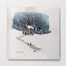 The Winter Hill Metal Print
