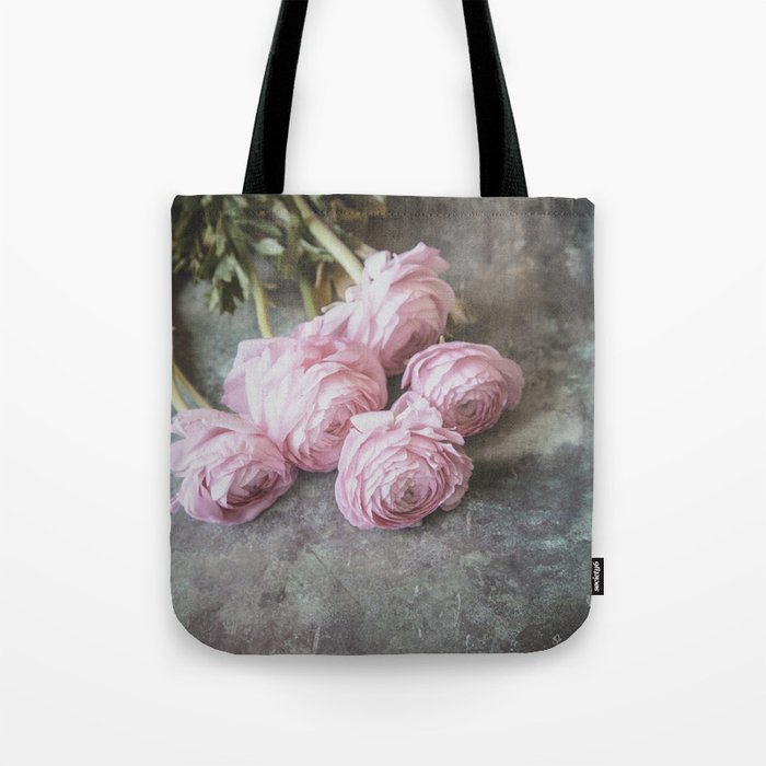A Bunch Of Lovely Ranunculus Tote Bag