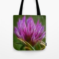 clover Tote Bags featuring Clover by Best Light Images