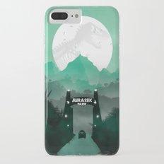 Jurassic Park Inspired Minimalist Print  iPhone 7 Plus Slim Case