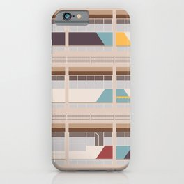 Cité Radieuse - Le Corbusier iPhone Case