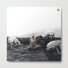 The White Sky VII Metal Print