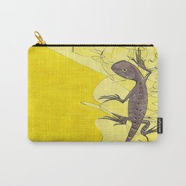 Frank the Lizard Carry-All Pouch
