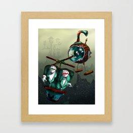 The Great Getaway Framed Art Print