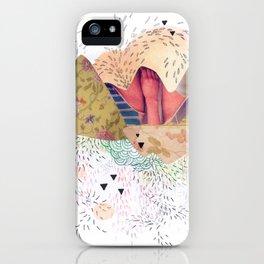 montañas iPhone Case
