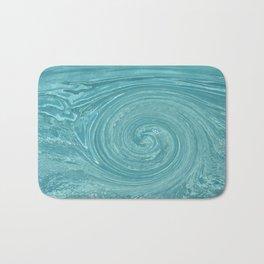 Swirls of time Bath Mat
