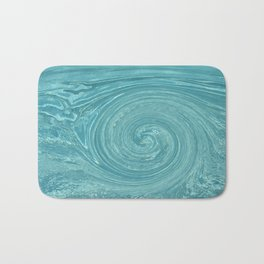 Swirls of time Bath Mat