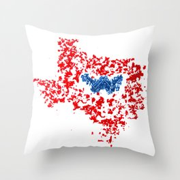 Texas for Wendy Throw Pillow