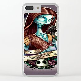 nightmare before christmas princess Clear iPhone Case