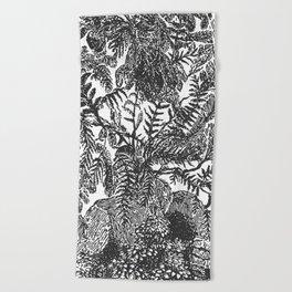 Botanical Beach Towel