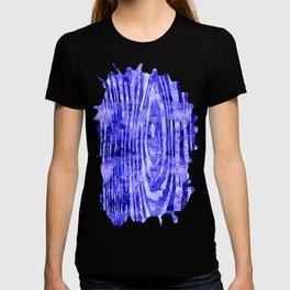 Purple Wood Print T-shirt